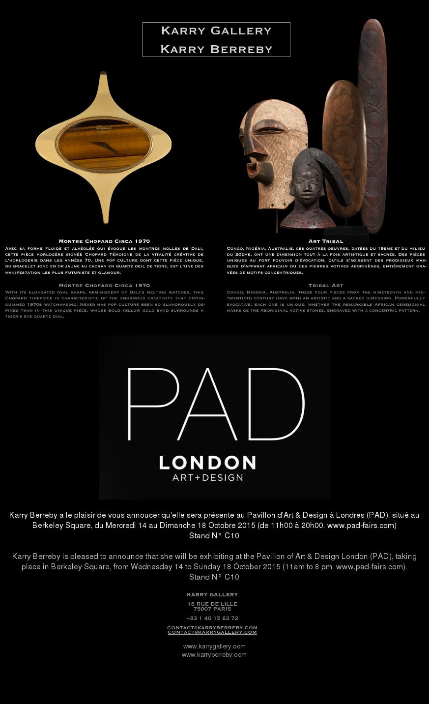 PAD LONDON 2015